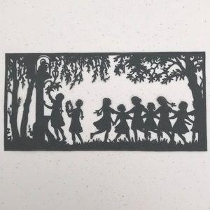 💖 Handmade PaperCut Silhouette Scherenschn…